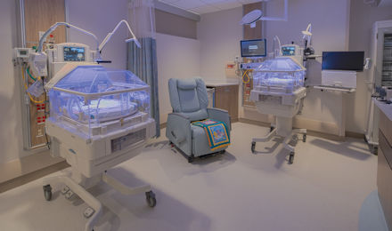 Sally and John Francis Tanner Neonatal ICU