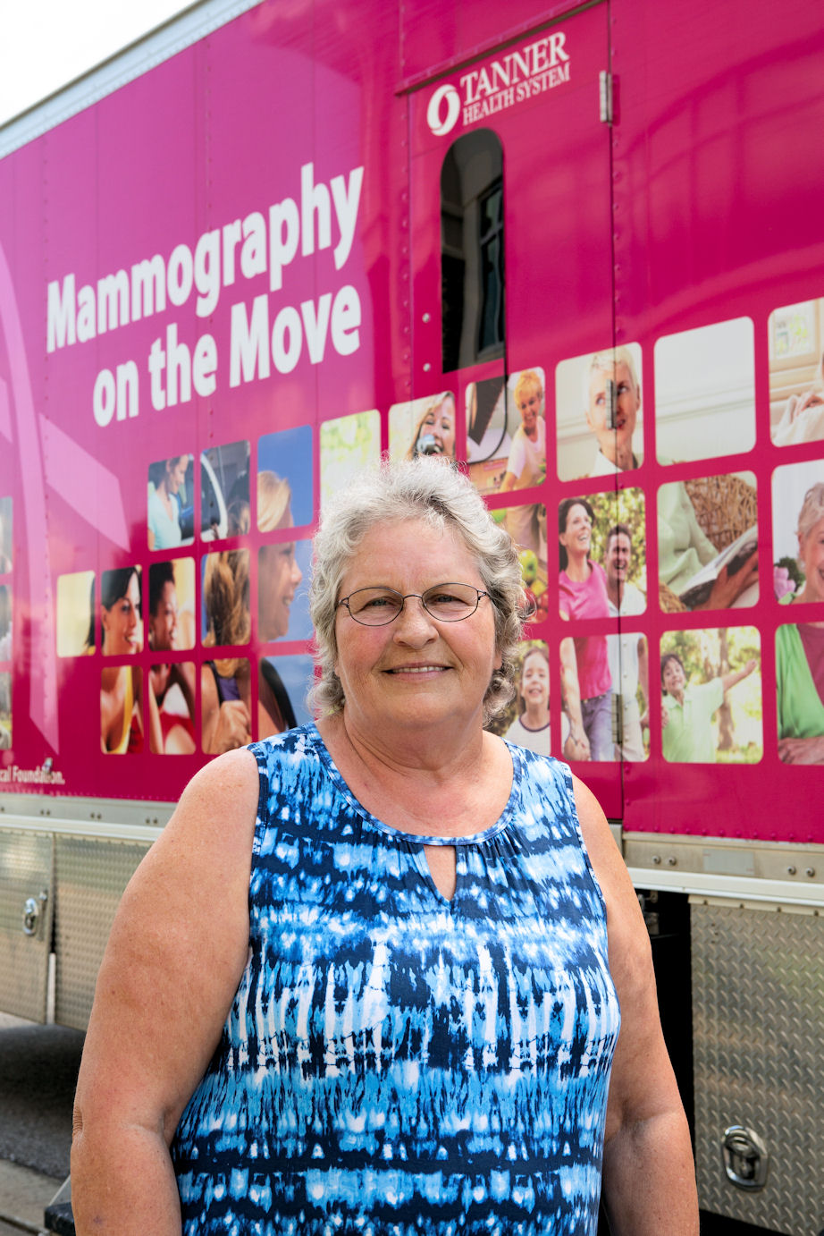 Elsie Wilson with Mammography on the Move